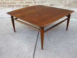 mid century modern surfboard coffee table circa midcentury u0027bassett u0027 walnut coffee table