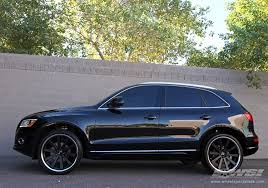 audi q5 rims and tires 2012 audi q5 with 22 gianelle santo 2ss in matte black chrome s