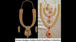 haram designs indian gold jewellery collection