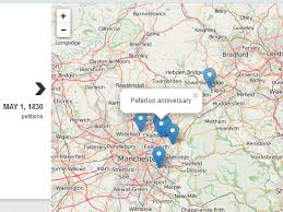 map of oldham oldham protest and the politics of space and place