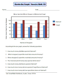 best solutions of double bar graph worksheets grade 5 for your