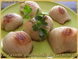 cuisiner fenouil braisé fenouil braisé cuisine gourmande de carmencita