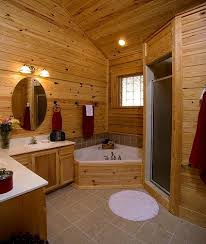 log home bathroom ideas cabin bathrooms home design plan