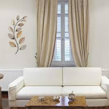 metallic home decor stratton home decor multi metallic large leaf wall decor s01752