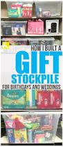 how i built my gift stockpile for birthdays and weddings the