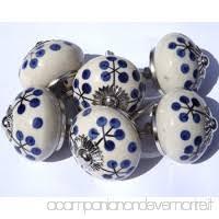 pomelli vintage vintage chic mg 227 a set di pomelli in ceramica in stile