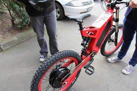 making a motocross bike road legal gizmodo test drives stealth bikes australian technology meets