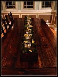 Farm Table Dining Room Dining Table Centerpieces Dining Room Tables Pinterest