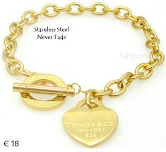 bracelet with heart images Fabjewels4less stainless steel 316l toggle bracelet with heart charm png