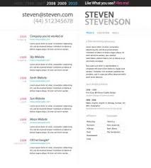 Best One Page Resume by Resume Template Single Page Free Professional Online One With
