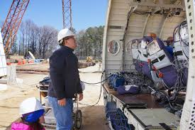 new antenna helps nasa langley track flights near and far nasa