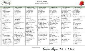assisted living menu ideas facility medium online menus retirement and nursing home