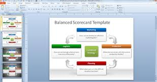 layouts for powerpoint free balanced scorecard powerpoint template