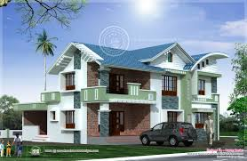 modern mixed roof villa design house design plans