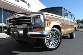 1989 Jeep Grand Wagoneer Limited 4x4 Stock P1107 For Sale Near