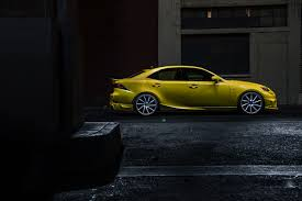 lexus f type yellow 2013 sema show fan created 2014 lexus is 350 to debut along with