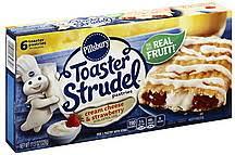 pillsbury toaster strudel cream cheese u0026 strawberry flavored