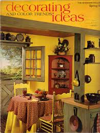 1960s Kitchen by 1960s Decorating Style 16 Pages Of Painting Ideas From 1969
