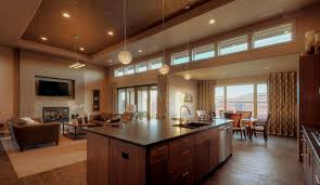 Kitchen Great Room Designs by Fascinating 10 Open Kitchen Living Room Designs India Decorating