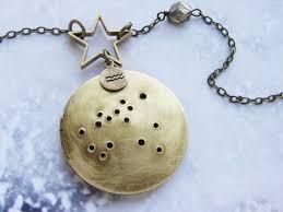 custom locket necklace crafted custom constellation locket necklace by sora designs