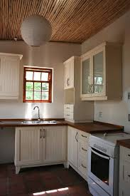 fashionable free standing kitchen cabinets adjusted to modern home