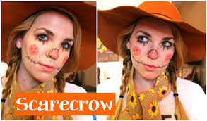 scarecrow halloween makeup scarecrow makeup tutorial youtube