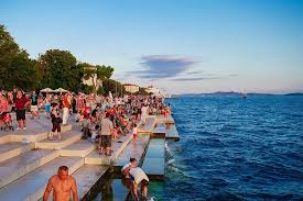 a stop in zadar croatia the department of wandering