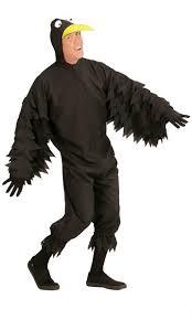 Crow Halloween Costume Mens Crow Costume