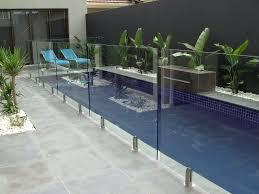 Backyard Pool Fence Ideas Stunning Modern Patio Backyard Glass Pool Fencing Ideas Cherokee