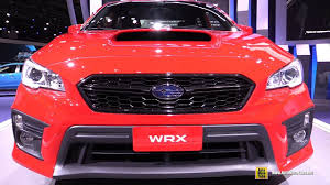 subaru wrx interior 2018 subaru wrx exterior and interior walkaround debut at 2017