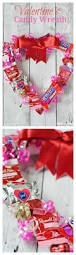 Homemade Valentines Day Gifts by Valentine U0027s Candy Wreath Candy Wreath Wreaths And Gift