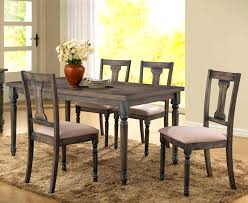 furniture charming bellamy wood rectangular dining table chairs
