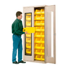 storage cabinet floor mounted double door metal