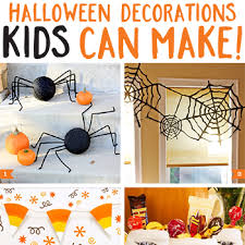 Kids Halloween Crafts Easy - halloween decorations kids can make diy decoration decoration