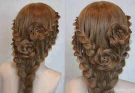 braided hairstyle instructions step by step rose bud flower braid hairstyle tutorial alldaychic