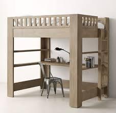 rh teen u0027s callum full loft study bed sleep on it defined by its