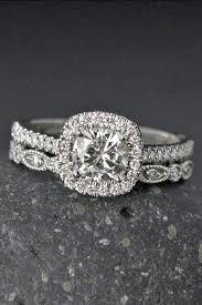 diamond rings wedding images 24 moissanite engagement rings that sparkle like a diamond jpg