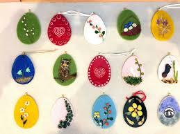 glass easter egg ornaments make glass easter egg ornament at riverside artisans saturday