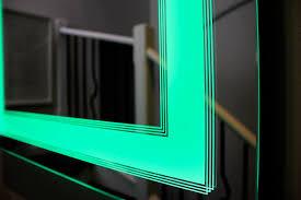 Illuminated Bathroom Wall Mirror Lighted Bathroom Wall Mirror