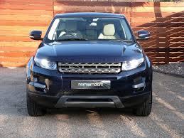 blue land rover used buckingham blue land rover range rover evoque for sale dorset