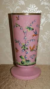 Victorian Glass Vase 58 Best Antique Enameled Art Glass Images On Pinterest Enamels