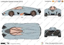 lamborghini egoista the blueprints com vector drawing lamborghini egoista concept