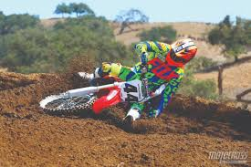 motocross action magazine honda tests archives motocross action