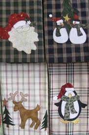 free applique tea towel patterns holiday tea towels applique pdf