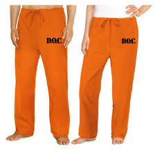 halloween inmate costume prisoner costume pants doc prison pants convict uniform costumes