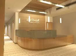 Hospital Reception Desk Reception Desk Design Hospital Modern Company Entrance With Front