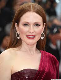julianne moore julianne moore channels the red queen at cannes 2015