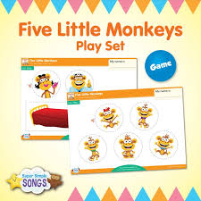 No More Monkeys Jumping On The Bed Song 38 Best Monkey Songs Books And Crafts Images On Pinterest