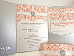 damask wedding invitations blush pink silver damask wedding invitations citlali