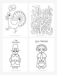 thanksgiving coloring pages kids printables